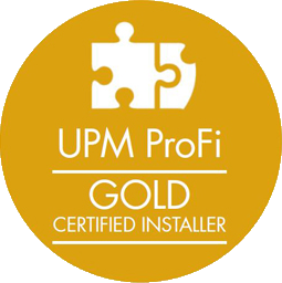 UPM ProFi Gold Certified Installer