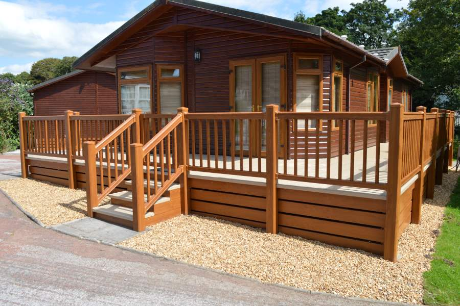 Plastic uPVC Decking in Cumbria and The Lake District