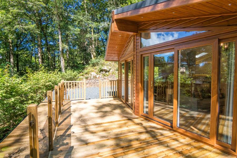 Timber Decking in Cumbria and The Lake District
