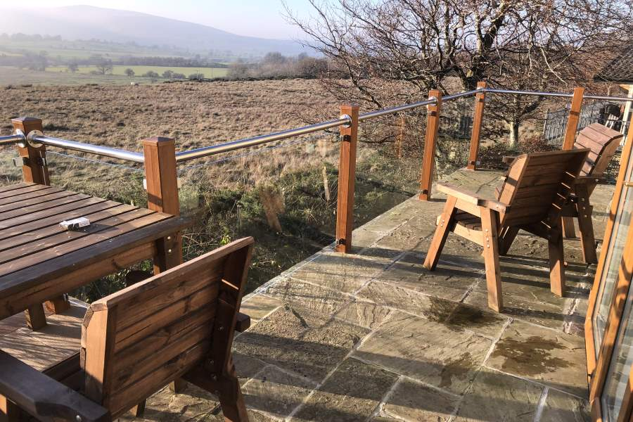 Glass Balustrades in Cumbria and The Lake District